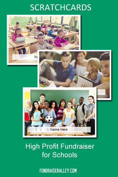 Scratchcards - High Profit Fundraiser for Schools