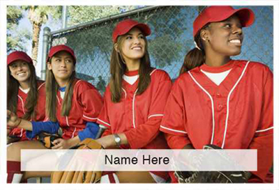 Scratchcard Theme - Softball