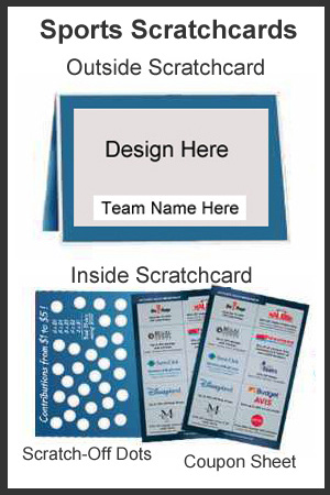 Sports Team Scratchcards Description
