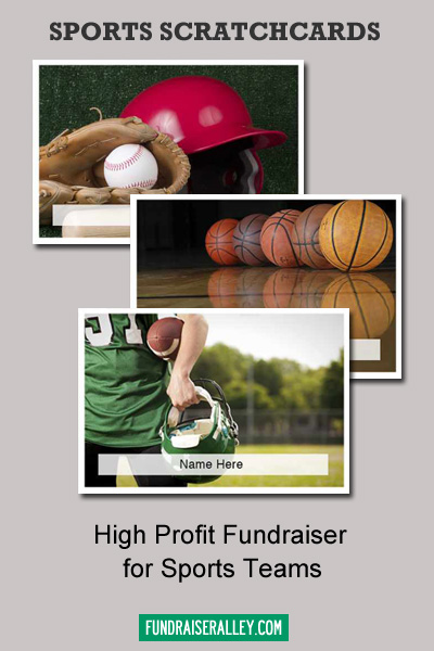 Sports Scratchcards - High Profit Fundraiser for Sports Teams
