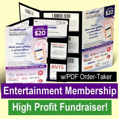 Entertainment Membership Fundraiser