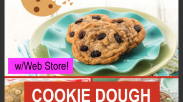 Cookie Dough Preportioned Fundraiser with Web Store