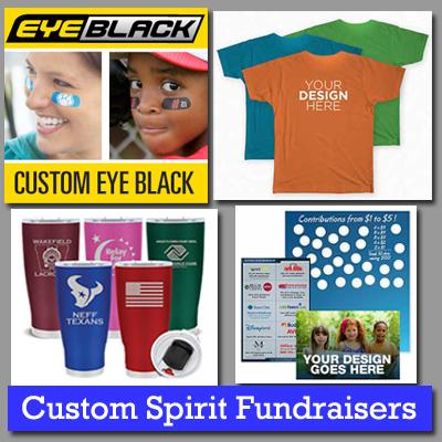 Custom Spirit Fundraisers