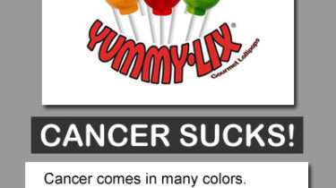 Cancer Sucks Fundraiser Lollipops