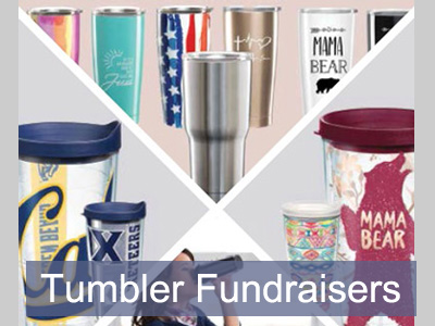 Tumblers for Summer Fundraising