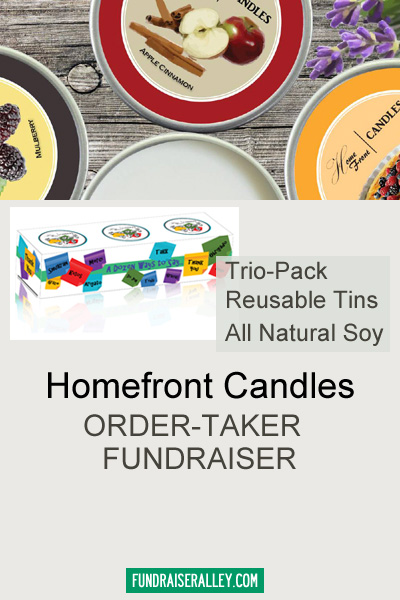 Homefront Candles Order-Taker Fundraiser