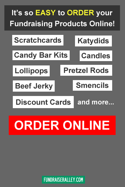 It's So Easy to Order Your Fundraising Products Online