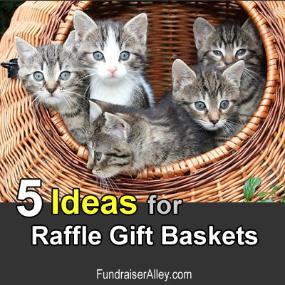 5 Ideas for Raffle Gift Baskets