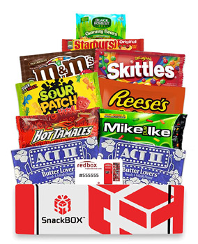 Red Box Movie Night Gift Basket - Amazon.com