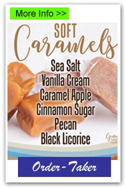 Caramel Candy Order-Taker Fundraiser
