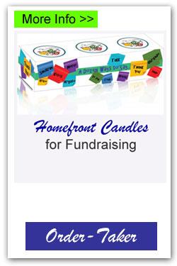 Homefront Candles Order-Taker Fundraiser