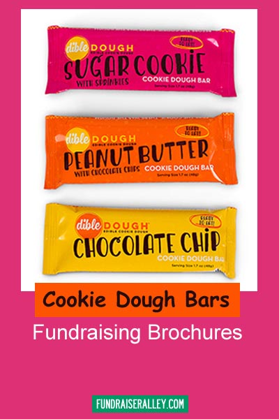 Cookie Dough Bars Fundraising Brochures