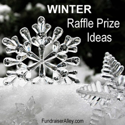 Winter Raffle Prize Ideas