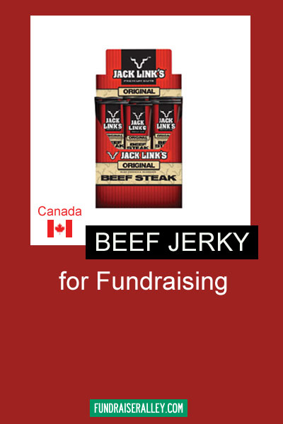Beef Jerky for Fundraising - Canada