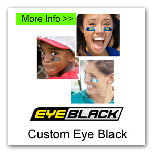 Custom Eye Black Fundraiser for Canada