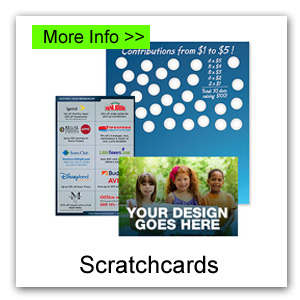 Scratchcards for Canada Fundraiser