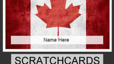 Scratchcards for Canada Fundraising