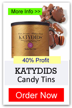Katydids Candy Tins - Order Now