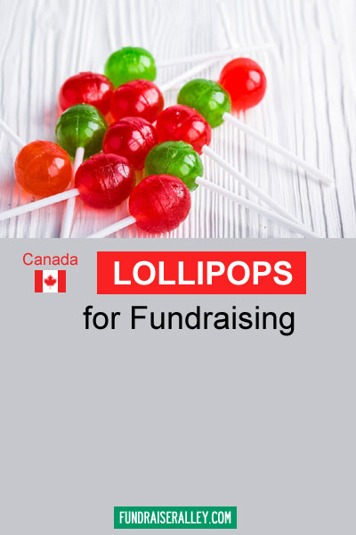 Lollipops for Fundraising in Canada