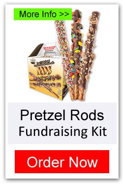 Order Pretzel Rods Fundraising Kit