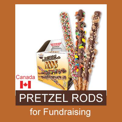 Pretzel Rods for Fundraising - Canada