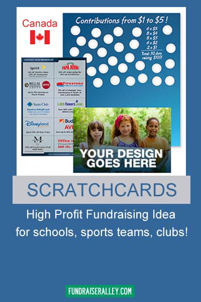 Scratchcards Fundraiser - Canada