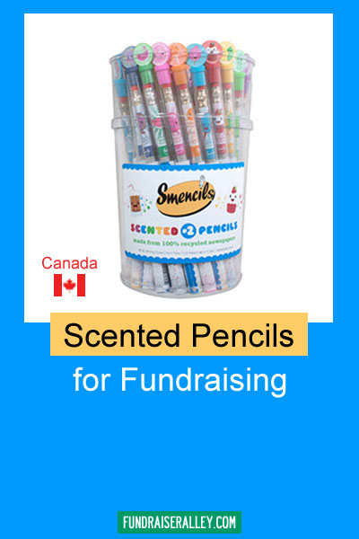 Smencils Scented Pencils for Fundraising Canada