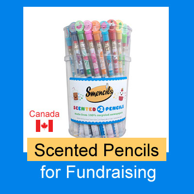 Scented Pencils for Fundraising, Canada