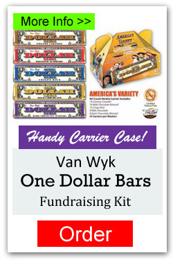 Americas Variety Candy Bar Fundraising Kit