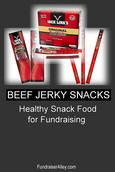 Beef Jerky Snacks - Healthy Snack Food for Fundraising