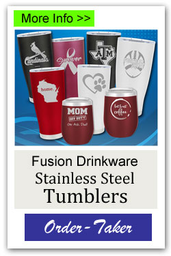 Stainless Steel Tumblers Order-Taker