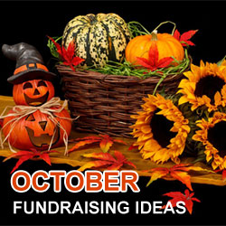 October Fundraising Ideas