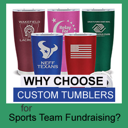 Why Choose Tumblers for Sports Team Fundraising