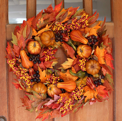 Fall Front Door Wreath - Amazon.com
