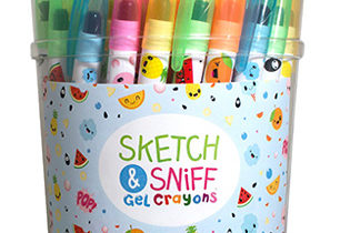 Scented Gel Crayons for Fundraising