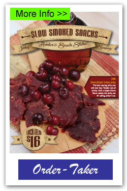 Slow Smoked Snacks Fundraiser Brochure