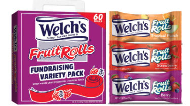 Fruit Roll Snacks Fundraising Kit