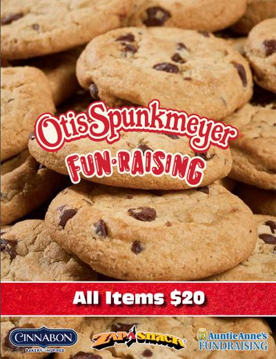 Otis Spunkmeyer Fundraising All Items One Price Brochure