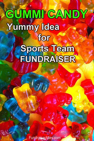 Gummi Candy - Yummy Idea for Sport Team Fundraiser