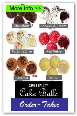 Cake Balls Order-Taker