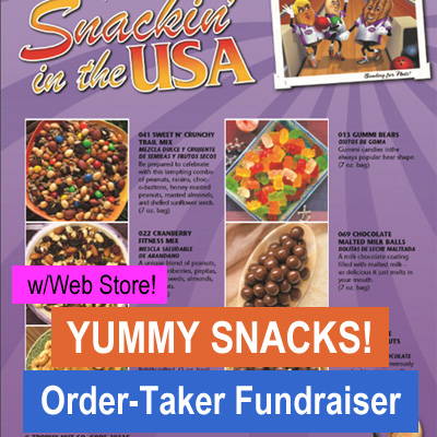 Snacks Order-Taker Fundraiser with Web Store