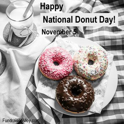 November 5 - National Donut Day