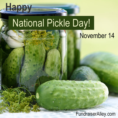 November 14 - National Pickle Day