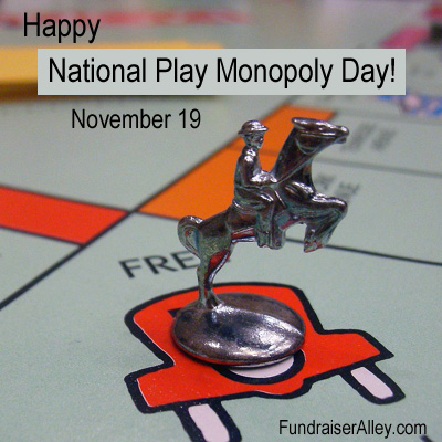 November 19 - National Play Monopoly Day
