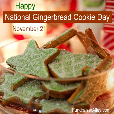 November 21 - National Gingerbread Cookie Day