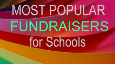 4 Most Popular Fundraisers for Schools
