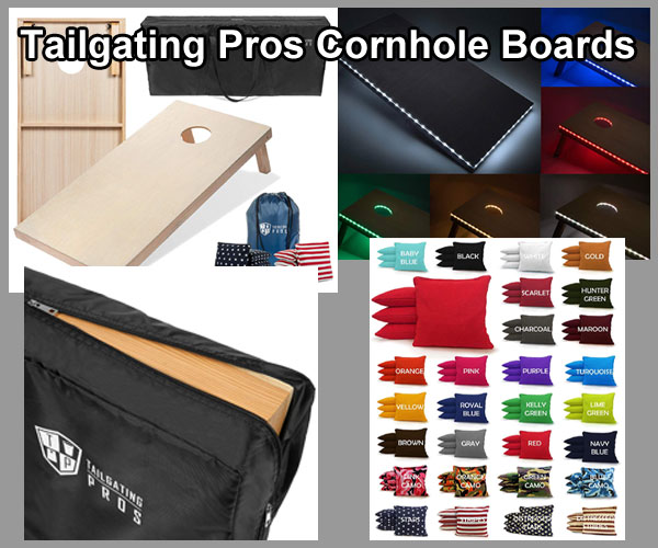 Tailgating Pros Corn Hole Boards