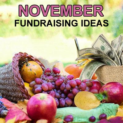 November Fundraising Ideas