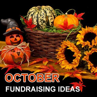 October Fundraising Ideas