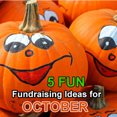 5 Fun Fundraising Ideas for October